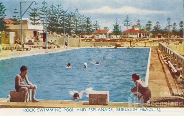 Rock Swimming Pool And Esplanade Burleigh Heads Queensland Places