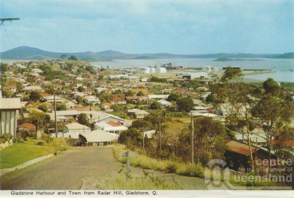 Gladstone Harbour And Town From Radar Hill Gladstone