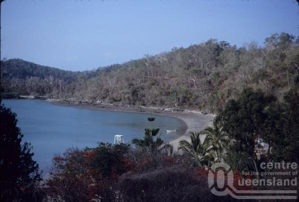 "<span class=""caption-caption"">Palm Bay, Dent Island, Whitsunday, Great Barrier Reef</span>, 1968. <br />Slide, collection of <span class=""caption-contributor"">Beris Gaal</span>."