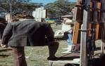 "<span class=""caption-caption"">Bookies, picnic races at Burrandowan, near Kingaroy</span>, 1979. <br />Slide, collection of <span class=""caption-contributor"">Allan Webb</span>."