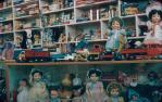 "<span class=""caption-caption"">Faichney's Toy shop, Atherton</span>, c1950s. <br />Slide, collection of <span class=""caption-contributor"">Beth Snewin</span>."