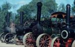 "<span class=""caption-caption"">Working steam engines, market, Petrie</span>, 1993. <br />Slide, collection of <span class=""caption-contributor"">Ruth Read</span>."