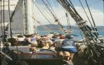 "<span class=""caption-caption"">On board the Golden Plover tourist sailing ship, Airlie Beach</span>, 1982. <br />Slide, collection of <span class=""caption-contributor"">Warwick Willmott</span>."
