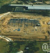"<span class=""caption-caption"">Brisbane South Industrial Park under construction</span>, 1997. <br />Digital image, collection of <span class=""caption-contributor"">Delfin Lend Lease Ltd</span>."