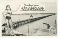 "<span class=""caption-caption"">Greetings from Urangan</span>, 1958. <br />Postcard, collection of <span class=""caption-contributor"">John Young</span>."
