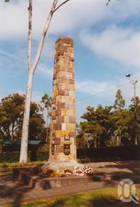 "<span class=""caption-caption"">Dutton Park war memorial</span>, 2003. <br />Photograph, collection of <span class=""caption-contributor"">John Young</span>."
