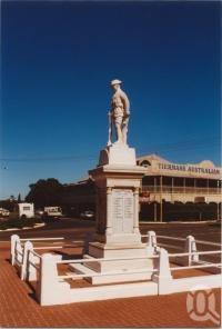 "<span class=""caption-caption"">Murgon war memorial</span>, 2003. <br />Photograph, collection of <span class=""caption-contributor"">John Young</span>."