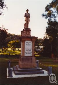 "<span class=""caption-caption"">Kandanga war memorial</span>, 2003. <br />Photograph, collection of <span class=""caption-contributor"">John Young</span>."