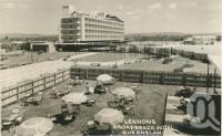 "<span class=""caption-caption"">Lennons Broadbeach Hotel</span>, 1959. <br />Postcard by <span class=""caption-publisher"">Brisbane Postcards</span>, collection of <span class=""caption-contributor"">Centre for the Government of Queensland</span>."