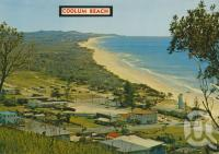 "<span class=""caption-caption"">View from Low's Lookout north to Peregian and Sunshine Beach</span>, c1960. <br />Postcard by <span class=""caption-publisher"">Bernard Kuskopf</span>, collection of <span class=""caption-contributor"">Centre for the Government of Queensland</span>."