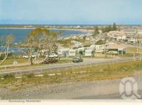 "<span class=""caption-caption"">Overlooking Mooloolaba</span>, c1964. <br />Postcard folder by <span class=""caption-publisher"">Bernard Kuskopf</span>, collection of <span class=""caption-contributor"">Centre for the Government of Queensland</span>."