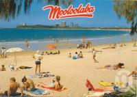 "<span class=""caption-caption"">Mooloolaba Beach</span>, 1994. <br />Postcard by <span class=""caption-publisher"">Wren Souvenirs</span>, collection of <span class=""caption-contributor"">Centre for the Government of Queensland</span>."