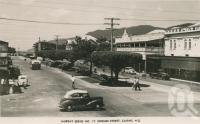 "<span class=""caption-caption"">Shields Street, Cairns</span>, c1950. <br />Postcard by <span class=""caption-publisher"">Murray Views Pty Ltd</span>, collection of <span class=""caption-contributor"">Centre for the Government of Queensland</span>."