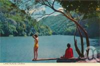 "<span class=""caption-caption"">Lake Placid, Cairns</span>, c1964. <br />Postcard folder by <span class=""caption-publisher"">John Sands Pty Ltd</span>, collection of <span class=""caption-contributor"">Centre for the Government of Queensland</span>."