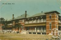 "<span class=""caption-caption"">Hospital Cairns</span>, c1911. <br />Postcard by <span class=""caption-publisher"">Owen Whittick</span>, collection of <span class=""caption-contributor"">Centre for the Government of Queensland</span>."