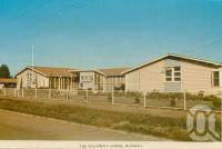 "<span class=""caption-caption"">The Children's Hostel, Blackall</span>, c1964. <br />Postcard folder by <span class=""caption-publisher"">Sydney G Hughes Pty Ltd</span>, collection of <span class=""caption-contributor"">Centre for the Government of Queensland</span>."