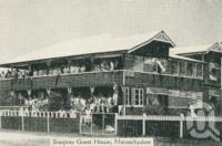 "<span class=""caption-caption"">Seaspray Guest House, Maroochydore</span>, c1930. <br />Postcard folder by <span class=""caption-publisher"">Unknown Publisher</span>, collection of <span class=""caption-contributor"">Centre for the Government of Queensland</span>."