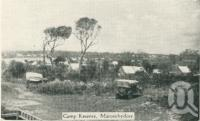 "<span class=""caption-caption"">Camp Reserve, Maroochydore</span>, c1930. <br />Postcard folder by <span class=""caption-publisher"">Unknown Publisher</span>, collection of <span class=""caption-contributor"">Centre for the Government of Queensland</span>."