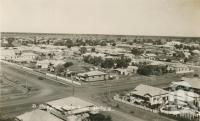 "<span class=""caption-caption"">View from Water Tower, Dalby</span>, c1938. <br />Postcard by <span class=""caption-publisher"">Murray Studios Pty Ltd</span>, collection of <span class=""caption-contributor"">Centre for the Government of Queensland</span>."