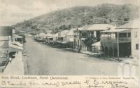 "<span class=""caption-caption"">Main street, Cooktown</span>, 1905. <br />Postcard by <span class=""caption-publisher"">T. Willmett & Sons</span>, collection of <span class=""caption-contributor"">Centre for the Government of Queensland</span>."
