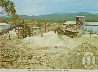 "<span class=""caption-caption"">The new concept in mining Wolfram, Mt Carbine</span>, c1964. <br />Postcard folder by <span class=""caption-publisher"">Unknown Publisher</span>, collection of <span class=""caption-contributor"">Centre for the Government of Queensland</span>."