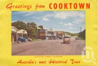 "<span class=""caption-caption"">Charlotte Street, Cooktown</span>, c1960. <br />Postcard folder by <span class=""caption-publisher"">Unknown Publisher</span>, collection of <span class=""caption-contributor"">Centre for the Government of Queensland</span>."