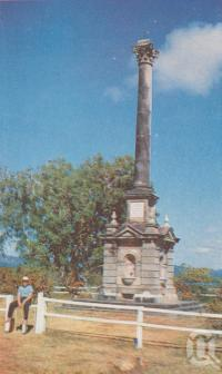"<span class=""caption-caption"">Captain Cook's Monument, Cooktown</span>, c1960. <br />Postcard folder by <span class=""caption-publisher"">Unknown Publisher</span>, collection of <span class=""caption-contributor"">Centre for the Government of Queensland</span>."