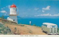"<span class=""caption-caption"">View from Grassy Hill, Cooktown</span>, c1960. <br />Postcard folder by <span class=""caption-publisher"">Unknown Publisher</span>, collection of <span class=""caption-contributor"">Centre for the Government of Queensland</span>."