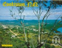 "<span class=""caption-caption"">Cooktown from Grassy Hill</span>, c1972. <br />Postcard folder by <span class=""caption-publisher"">Murray Views Pty Ltd</span>, collection of <span class=""caption-contributor"">Centre for the Government of Queensland</span>."