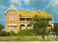 "<span class=""caption-caption"">The Museum, formerly St Mary's Convent, Cooktown</span>, c1972. <br />Postcard folder by <span class=""caption-publisher"">Murray Views Pty Ltd</span>, collection of <span class=""caption-contributor"">Centre for the Government of Queensland</span>."