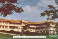 "<span class=""caption-caption"">Nurses' quarters, Hospital, Innisfail</span>, c1952. <br />Postcard folder by <span class=""caption-publisher"">Murray Studios Pty Ltd</span>, collection of <span class=""caption-contributor"">Centre for the Government of Queensland</span>."