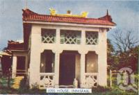 "<span class=""caption-caption"">Joss house, Innisfail</span>, c1952. <br />Postcard folder by <span class=""caption-publisher"">Murray Studios Pty Ltd</span>, collection of <span class=""caption-contributor"">Centre for the Government of Queensland</span>."