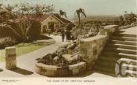"<span class=""caption-caption"">The kiosk at Mt Coot-tha, Brisbane</span>, c1950. <br />Postcard by <span class=""caption-publisher"">Sidues Series</span>, collection of <span class=""caption-contributor"">Centre for the Government of Queensland</span>."