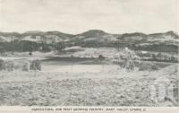 "<span class=""caption-caption"">Agricultural and fruit growing district, Mary Valley, Gympie</span>, c1956. <br />Postcard folder by <span class=""caption-publisher"">Murray Views Pty Ltd</span>, collection of <span class=""caption-contributor"">Centre for the Government of Queensland</span>."