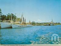 "<span class=""caption-caption"">Schnapper Creek, Tin Can Bay</span>, c1962. <br />Postcard folder by <span class=""caption-publisher"">Murray Views Pty Ltd</span>, collection of <span class=""caption-contributor"">Centre for the Government of Queensland</span>."