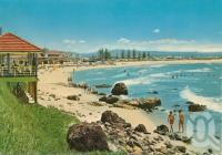 "<span class=""caption-caption"">Kirra Beach, Kirra Gold Coast</span>, c1962. <br />Postcard by <span class=""caption-publisher"">John Engelander & Co Pty Ltd</span>, collection of <span class=""caption-contributor"">Centre for the Government of Queensland</span>."