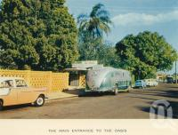 "<span class=""caption-caption"">The main entrance to the Oasis</span>, c1960. <br />Postcard folder by <span class=""caption-publisher"">Sydney G Hughes Pty Ltd</span>, collection of <span class=""caption-contributor"">John Young</span>."