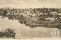 "<span class=""caption-caption"">View of Kangaroo Point from Bowen Terrace</span>, c1910. <br />Postcard by <span class=""caption-publisher"">Unknown Publisher</span>, collection of <span class=""caption-contributor"">John Young</span>."