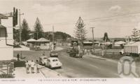 "<span class=""caption-caption"">The border gates Queensland and New South Wales</span>, c1958. <br />Postcard by <span class=""caption-publisher"">Unknown Publisher</span>, collection of <span class=""caption-contributor"">John Young</span>."
