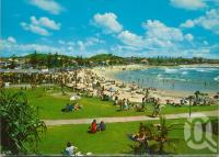 "<span class=""caption-caption"">Coolangatta</span>, c1961. <br />Postcard folder by <span class=""caption-publisher"">Kruger</span>, collection of <span class=""caption-contributor"">John Young</span>."
