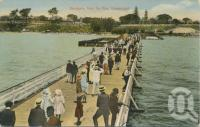 "<span class=""caption-caption"">Sandgate from the pier</span>, c1905. <br />Postcard by <span class=""caption-publisher"">White Series</span>, collection of <span class=""caption-contributor"">John Young</span>."