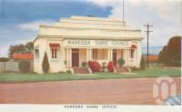 "<span class=""caption-caption"">Mareeba Shire Office</span>, c1961. <br />Postcard folder by <span class=""caption-publisher"">GK Bolton</span>, collection of <span class=""caption-contributor"">John Young</span>."