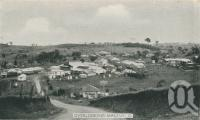 "<span class=""caption-caption"">Overlooking Maleny</span>, c1938. <br />Postcard folder by <span class=""caption-publisher"">Murray Views Pty Ltd</span>, collection of <span class=""caption-contributor"">John Young</span>."