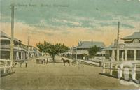 "<span class=""caption-caption"">Sydney Street, Mackay</span>, c1902. <br />Postcard by <span class=""caption-publisher"">Unknown Publisher</span>, collection of <span class=""caption-contributor"">John Young</span>."