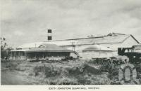 "<span class=""caption-caption"">South Johnstone sugar mill, Innisfail</span>, c1958. <br />Postcard folder by <span class=""caption-publisher"">Murray Views Pty Ltd</span>, collection of <span class=""caption-contributor"">John Young</span>."