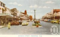 "<span class=""caption-caption"">Rankin Street, Innisfail</span>, c1958. <br />Postcard folder by <span class=""caption-publisher"">Murray Views Pty Ltd</span>, collection of <span class=""caption-contributor"">John Young</span>."