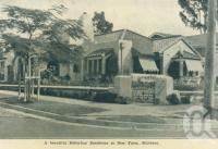 "<span class=""caption-caption"">A beautiful residence, New Farm</span>, c1938. <br />Postcard folder by <span class=""caption-publisher"">Sydney G Hughes Pty Ltd</span>, collection of <span class=""caption-contributor"">Centre for the Government of Queensland</span>."