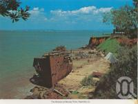 "<span class=""caption-caption"">The wrecks at Woody Point, Redcliffe</span>, c1965. <br />Postcard by <span class=""caption-publisher"">Murray Views Pty Ltd</span>, collection of <span class=""caption-contributor"">Centre for the Government of Queensland</span>."