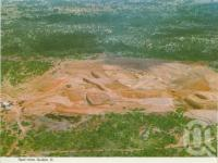 """<span class=""""caption-caption"""">Opal Mine, Quilpie</span>, c1962. <br />Postcard folder by <span class=""""caption-publisher"""">Murray Views Pty Ltd</span>, collection of <span class=""""caption-contributor"""">Centre for the Government of Queensland</span>."""