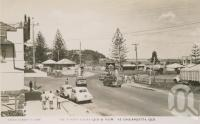 "<span class=""caption-caption"">The border gates, Queensland and NSW at Coolangatta</span>, c1958. <br />Postcard by <span class=""caption-publisher"">Sidues Series</span>, collection of <span class=""caption-contributor"">Centre for the Government of Queensland</span>."